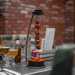 £9.50 Hanging Kebabs